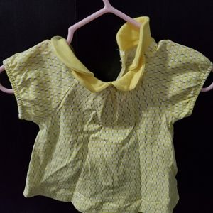 Baby Yellow Blouse